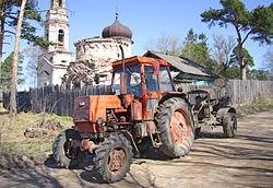 Гусеничные трактора мтз беларус