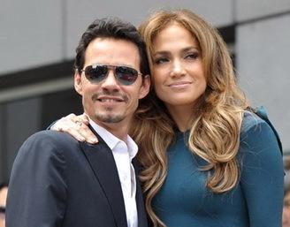 Jennifer Lopez и Marc Anthony больше не вместе