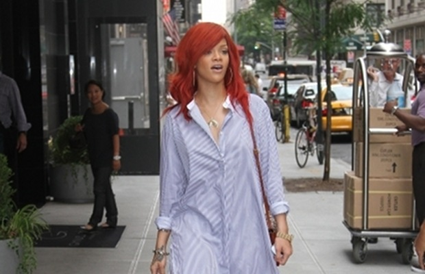 Did Rihanna Forget to Wear Pants in NYC?