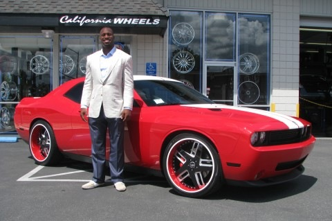 Vernon Davis adds a Red Challenger to his fleet