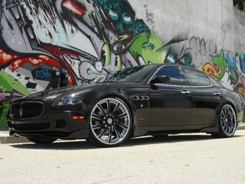 Felix Hernandez – Maserati Quattroporte
