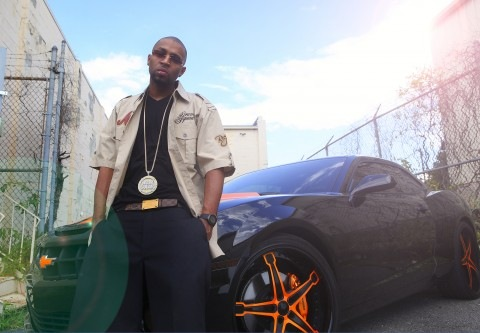 Drumma Boy | Black/Orange Camaro