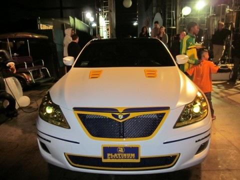 Ron Artest's Car | Hyundai?