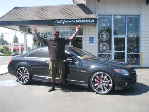Patrick Willis's 2009 MBZ CL63