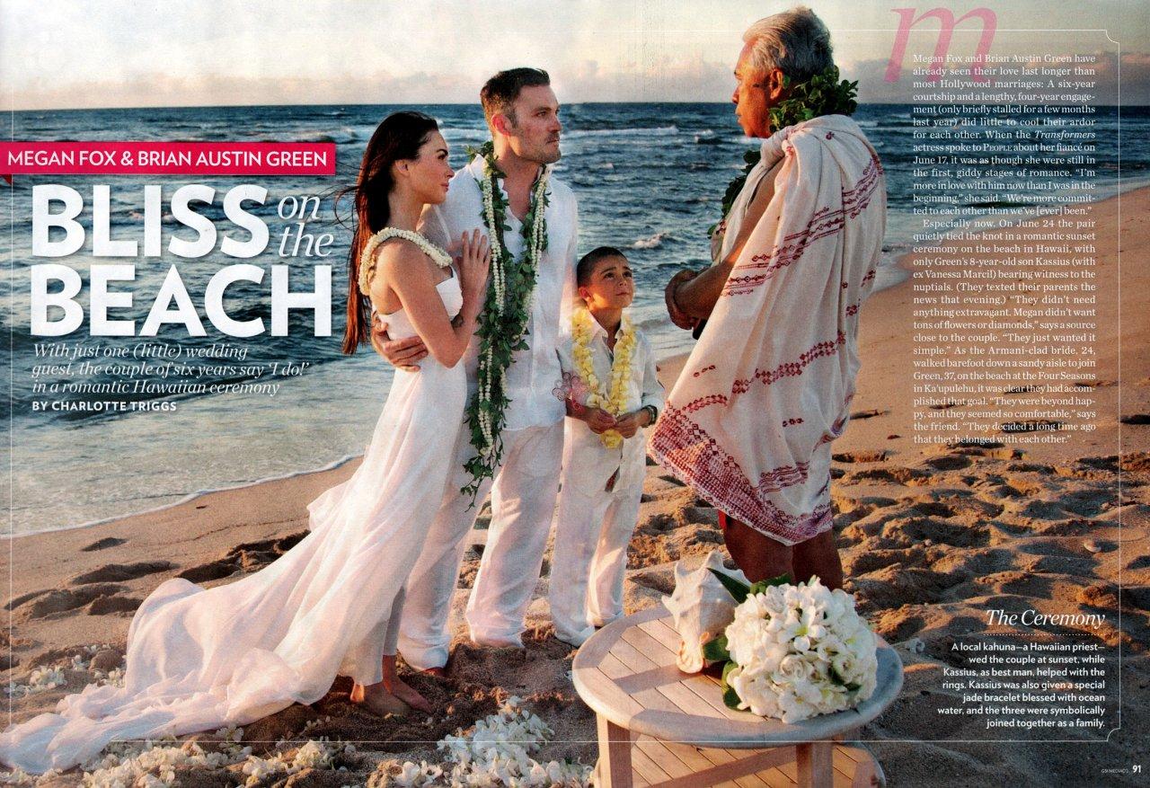 Свадебное платье меган фокс 4