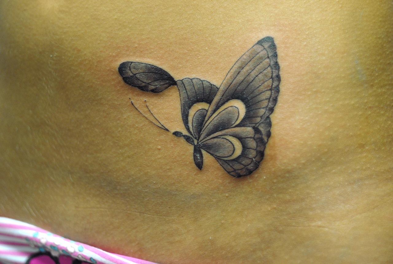 Бабочка тату: значение и фото