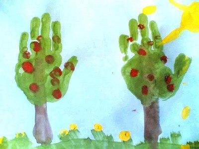 Нетрадиционные методы рисования в дошкольном возрасте - Документ
