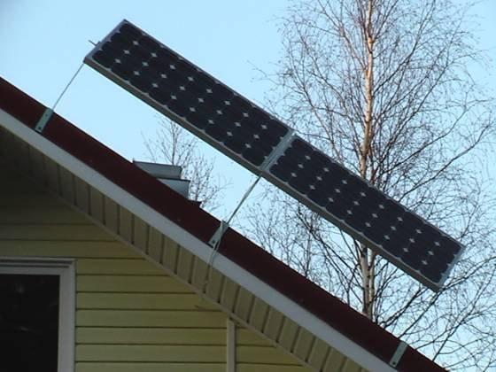 Монтаж, установка фотоэлектрических солнечных батарей, фотопанелей, модулей.