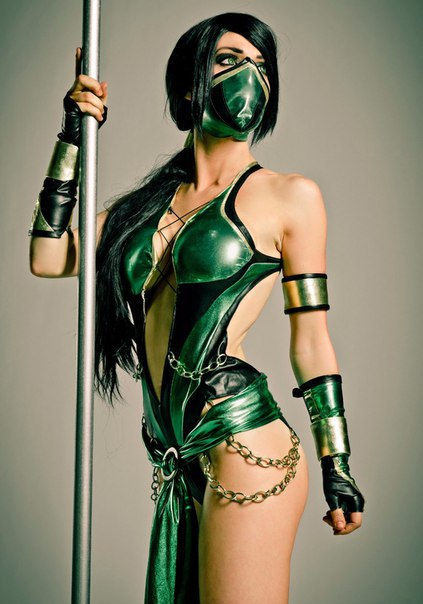 Косплеи персонажей из Mortal Kombat X