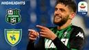 Сассуоло 4 0 Кево ОБзор матча чемпионата Италии Серия А