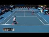 Huey_Mirnyi v Paes_Sa match highlights (1R) _ Australian Open 2017