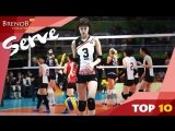 TOP 10 Best Floating Serves Actions by Saori Kimura