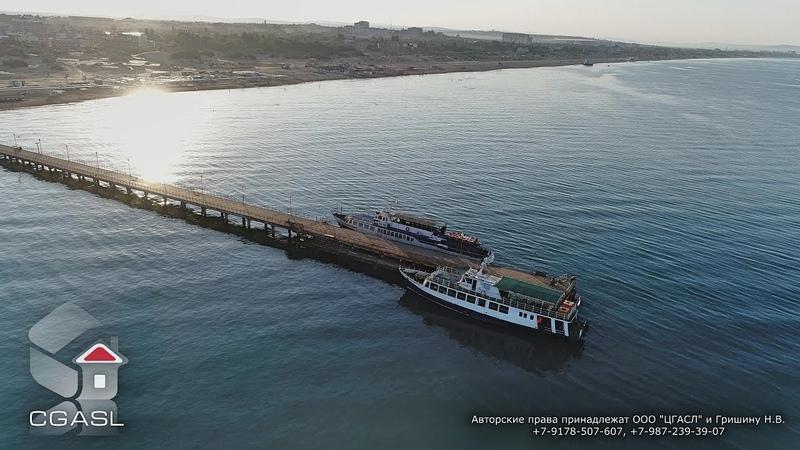 Аэровидеосъемка черноморского побережья (Витязево 2018)