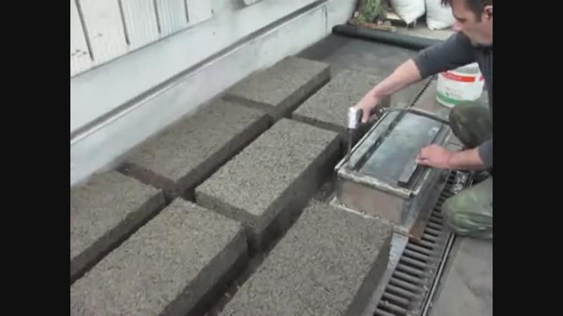 Самодельные арболитовые блоки - Строим дом своими руками