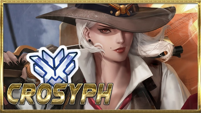 CROSYPH WORLD'S BEST ASHE PLAYER - OVERWATCH MONTAGE