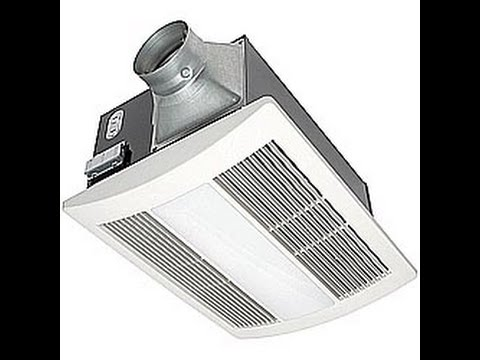 Panasonic. Install a Bathroom Fan with Heater and double switch. Вытяжка для ванной