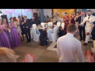 Выкуп невесты за танец на свадьбе Ризо и Саши