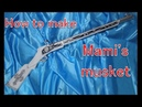 How to make Mami's musket - Puella Magi Madoka Magica [Cosplay prop tutorial]