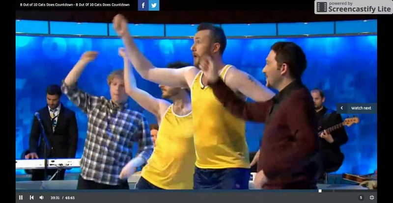8 Out Of Ten Cats Does Countdown Alex Horne Zumba Routine