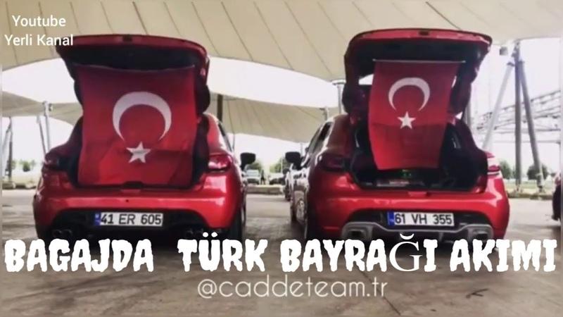 Bagajda Türk Bayrağı Akımı !! 😍❤ 2