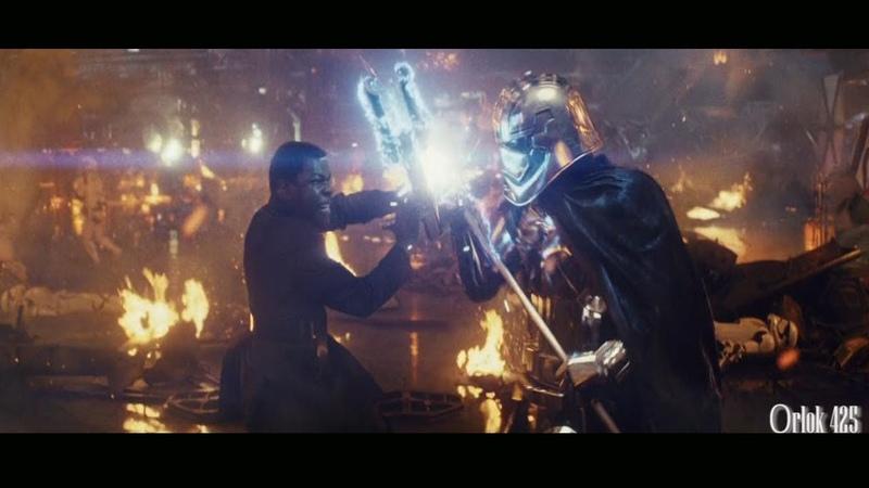 Star Wars VIII The Last Jedi - Finn Vs Captain Phasma Scene