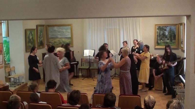 Старинный французский танец Турдион. Исполняют ансамбль Канцона и Лев Хохряков