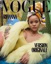 Рианна украсила сразу три варианта обложки декабрьско-январского сдвоенного номера Vogue P…
