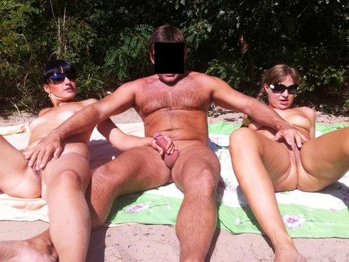 русское частное порно на море