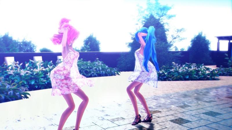 [MMD] Miku x Luka :*:・。,☆ Distorted Princess ☆,。・:*: [4KUHD60FPS]