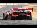 NEW Brabham BT62 Lovely V8 Sound 700hp 972kg track only toy at Goodwood FoS 2018