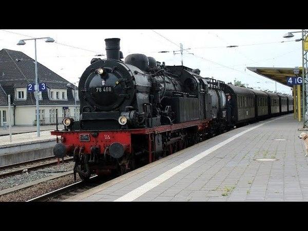 Dampflok 78 468 am 12.5. 2018 in Celle - 234