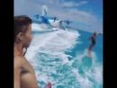 На Мальдивах скучно 😒 Только если ты не прицепил свой сёрф к гидросамолёту 😉