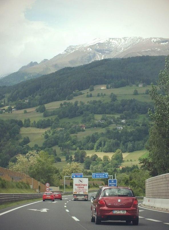 Фантастические горные автобаны Австрии