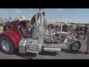 Дальнобой по США Америка. Трех колесный мотоцикл с двигателем CAT