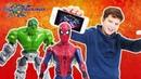 Мир мальчишек • МАКС и ЧЕЛОВЕК ПАУК играют в приложение МАРВЕЛ БИТВА ЧЕМПИОНОВ!