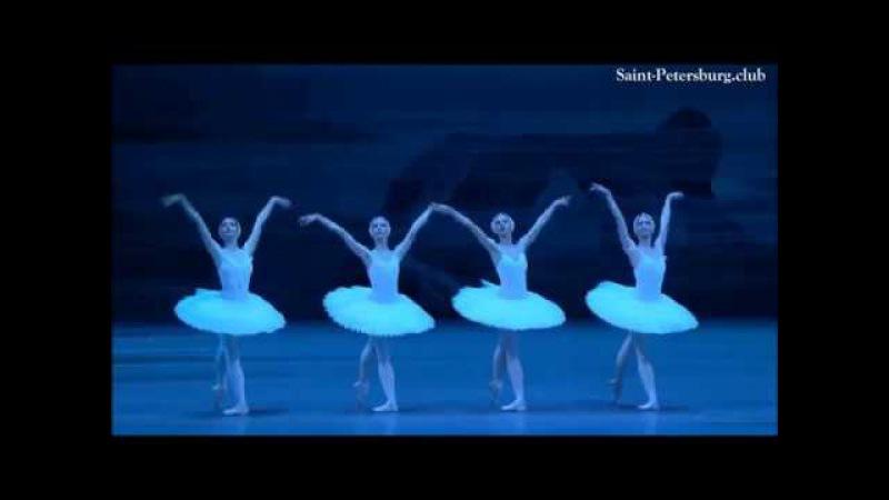 Swan Lake - Dance of the Little Swans - Tchaikovsky - Saint Petersburg