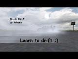 SLRR: RX-7 FD3S Drift вступительный ролик
