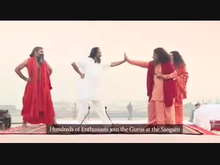 02.02.2019, Ришикеш, праздник Ку́мбха Ме́ла — самое массовое паломничество и омовение в водах Ганга.