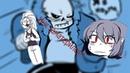 [Comics Mix RUS DUB Praita] - Инк матерится!! - UndertaleAU Comcs