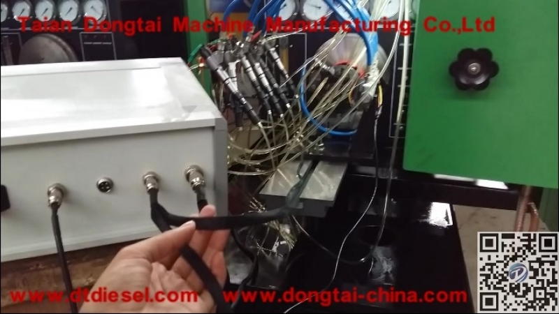 CR2000A CRI Testing with fuel pump test bench