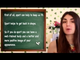 Тренировка словарного запаса _ SPORT _ английский язык для продолжающих