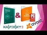 Тест Avast Free Antivirus 2017 & Антивирус Kaspersky Free 2017 (полная версия)