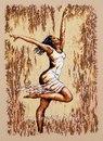 Набор для вышивания Dance of Joy 1 (Радостный танец).  Панно.