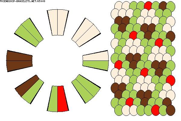 Шаблоны дисков для кумихимо