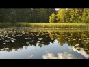 Обман зрения небо с озером