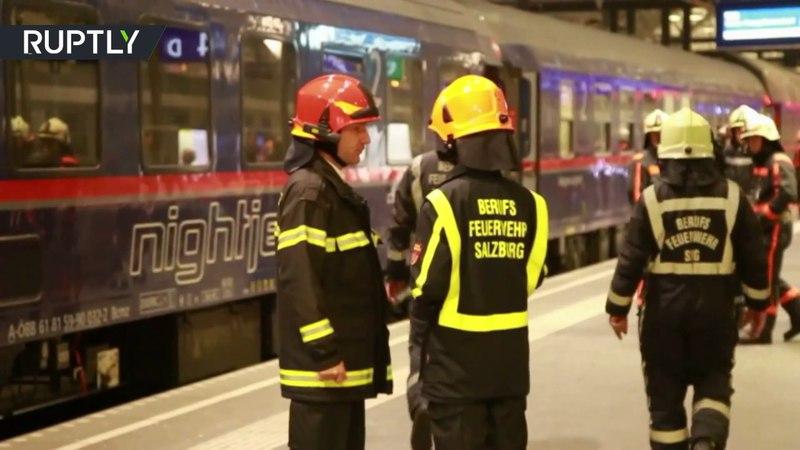В Австрии более 50 человек пострадали при столкновении вагонов поезда