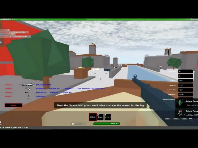 Game Review - Call of ROBLOXia 5: Roblox at War