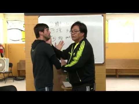 Sifu Gary Lam Wing Chun 18 Hands Actions ~ Pak Sau