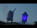 Танец двух белых горячек на пенной дискотеке . Самшитовая роща. Абхазия