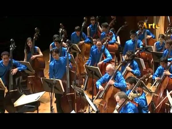 90' Kontrabass orchestra in Seoul Korea Arts Center 2011.10.03 KOREA KONTRABASS ASSOCIATION